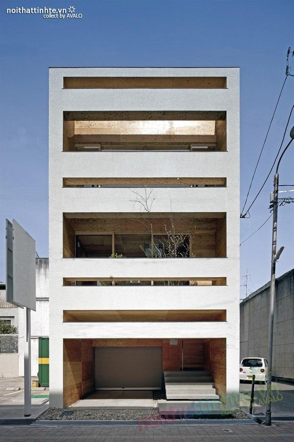 Mẫu nhà đẹp 3 tầng 01