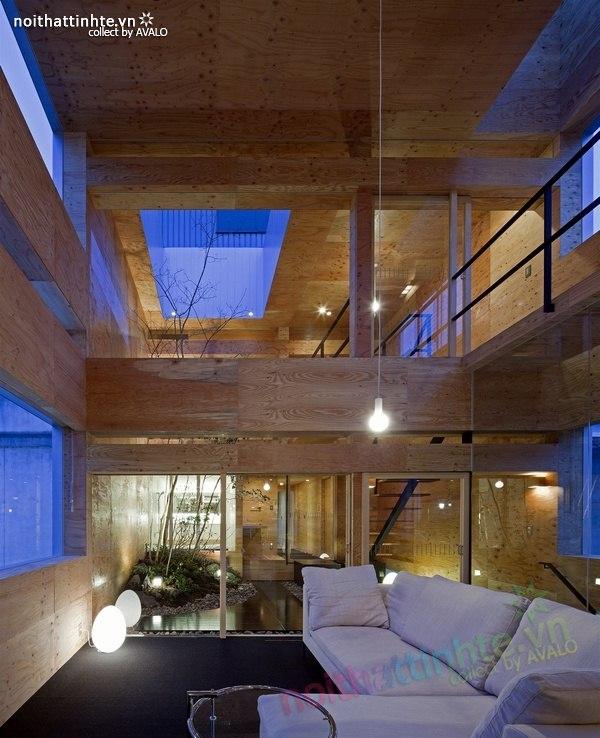 Mẫu nhà đẹp 3 tầng 09