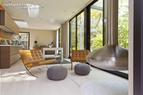 mẫu nhà nghỉ dưỡng 1 tầng đẹp 11