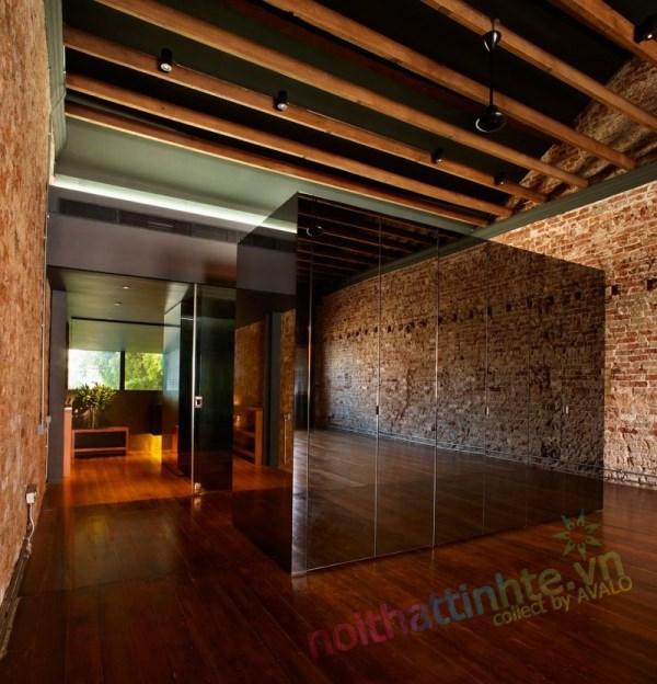 Thiết kế cải tạo nhà ở trên phố bảo tồn cổ 08