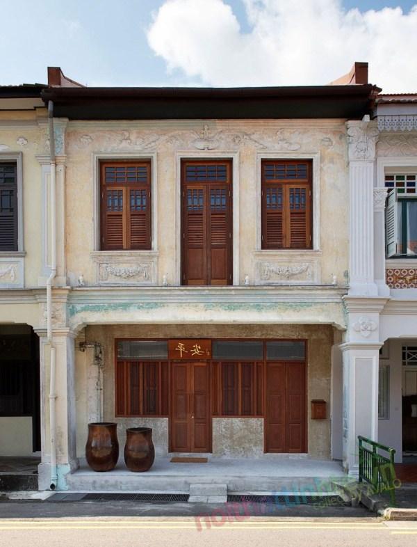 Thiết kế cải tạo nhà ở trên phố bảo tồn cổ 13