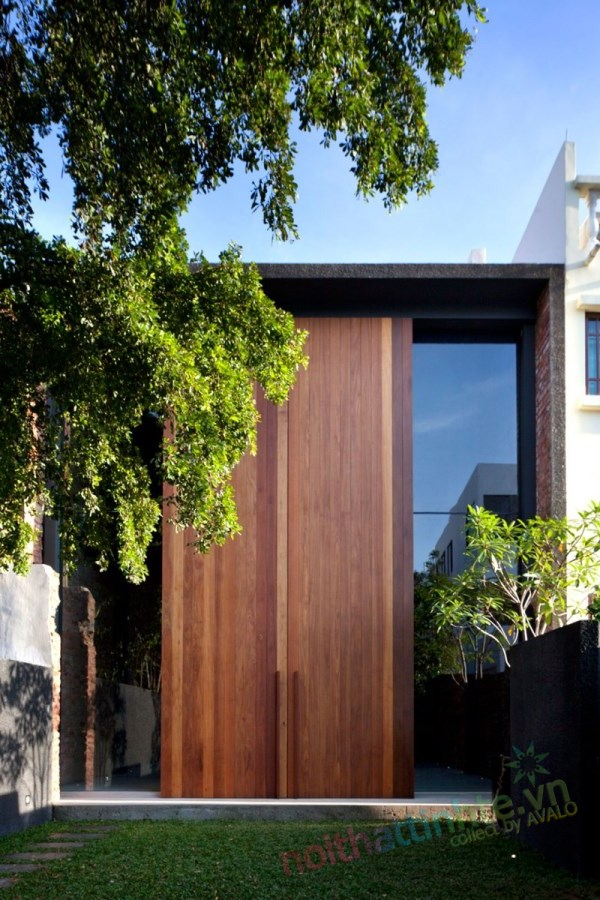 Thiết kế cải tạo nhà ở trên phố bảo tồn cổ 02