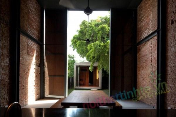 Thiết kế cải tạo nhà ở trên phố bảo tồn cổ 06