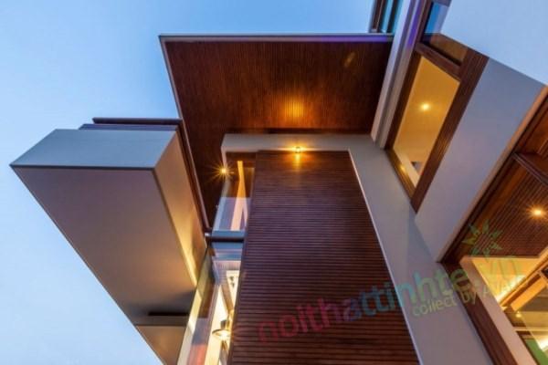 Thiết kế kiến trúc nhà đôi 12