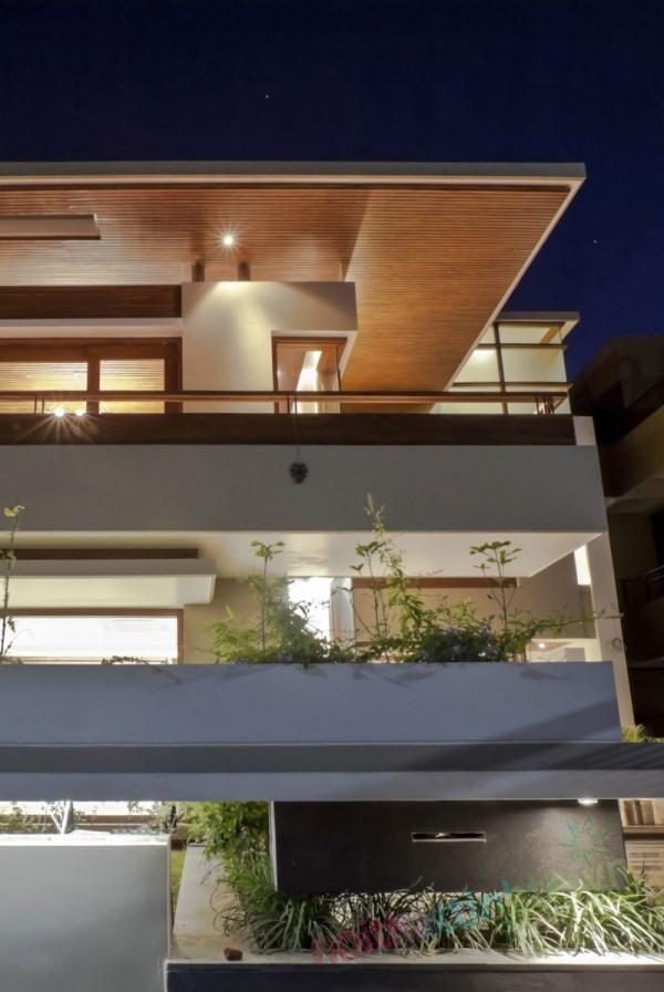 Thiết kế kiến trúc nhà đôi 13