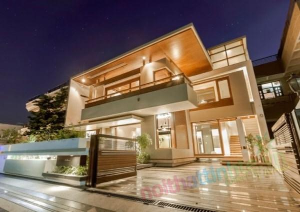 Thiết kế kiến trúc nhà đôi 02