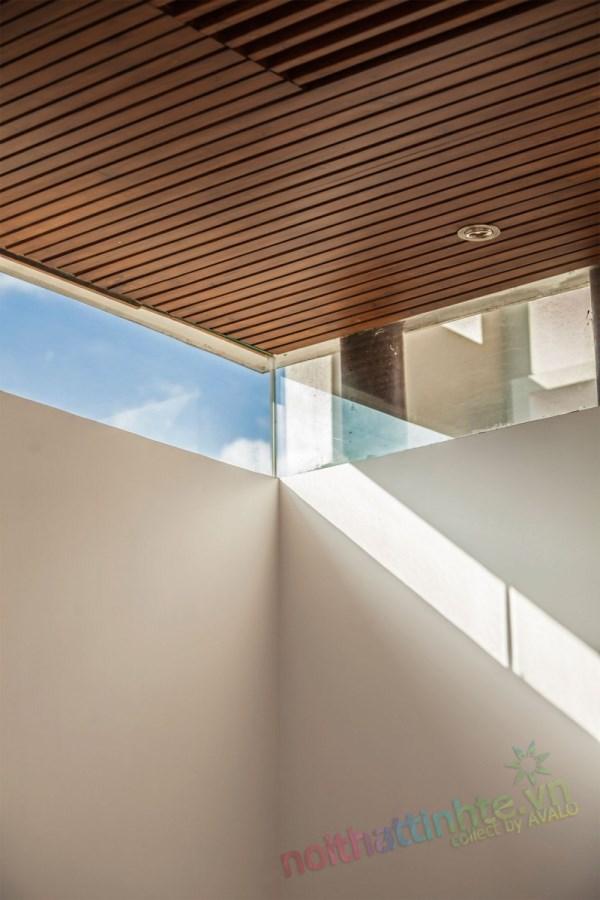 Thiết kế kiến trúc nhà đôi 09
