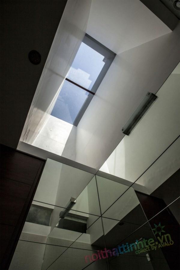 Thiết kế kiến trúc nhà đôi 10
