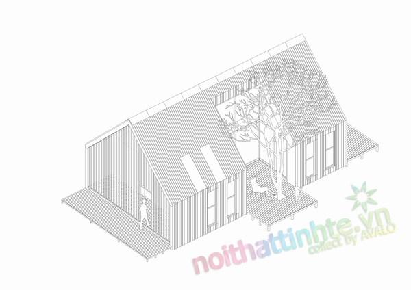 Nhà bằng tre ép 14