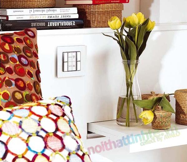 Thiết kế nội thất chung cư với màu sắc hỗn hợp 10