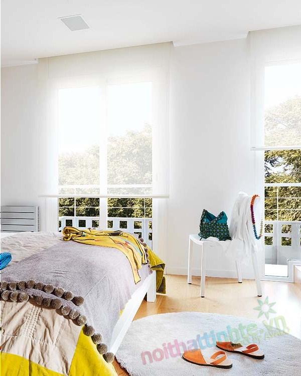 Thiết kế nội thất chung cư với màu sắc hỗn hợp 11