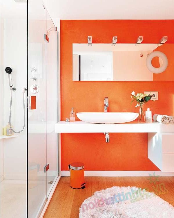 Thiết kế nội thất chung cư với màu sắc hỗn hợp 12