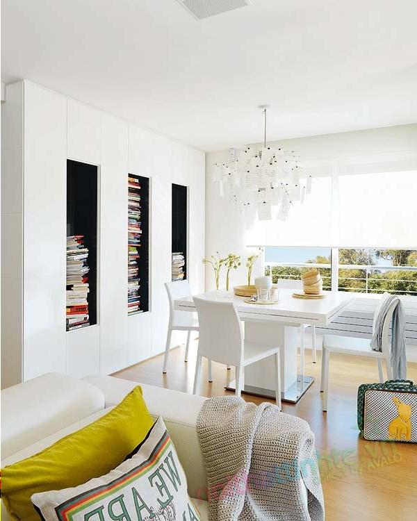 Thiết kế nội thất chung cư với màu sắc hỗn hợp 04