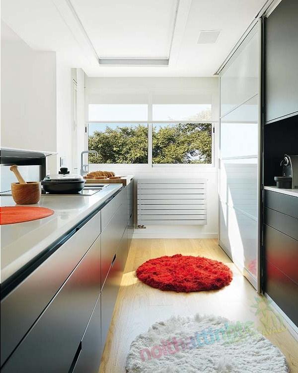 Thiết kế nội thất chung cư với màu sắc hỗn hợp 06