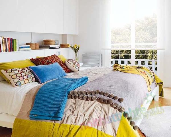 Thiết kế nội thất chung cư với màu sắc hỗn hợp 08