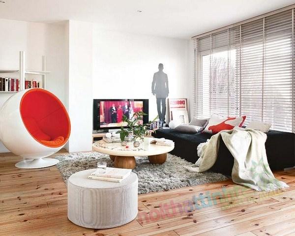 Thiết kế chung cư thông tầng 02