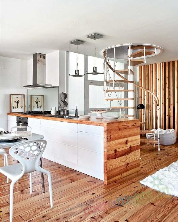 Thiết kế chung cư thông tầng 07