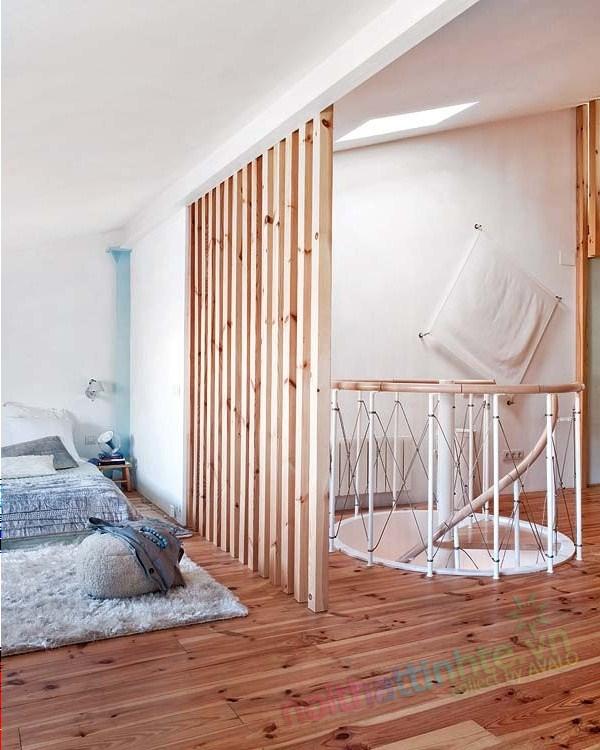 Thiết kế chung cư thông tầng 08