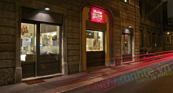 Thiết kế nhà hàng Al Mercato 02