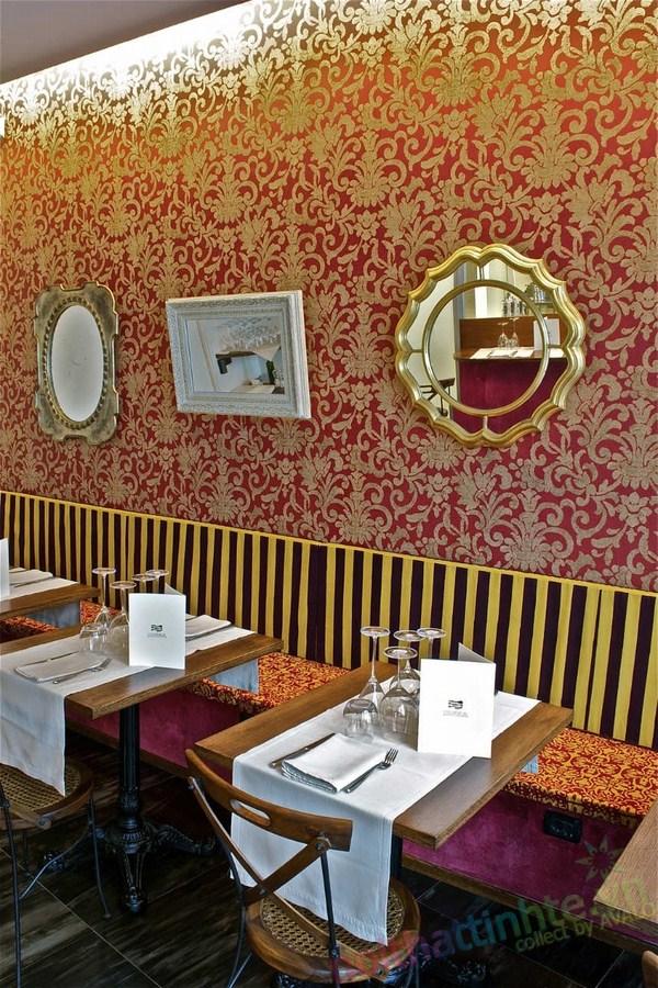 Thiết kế nhà hàng Al Mercato 03
