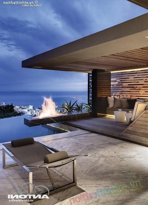 Biệt thự đẹp 2 tầng ở Cape Town 01