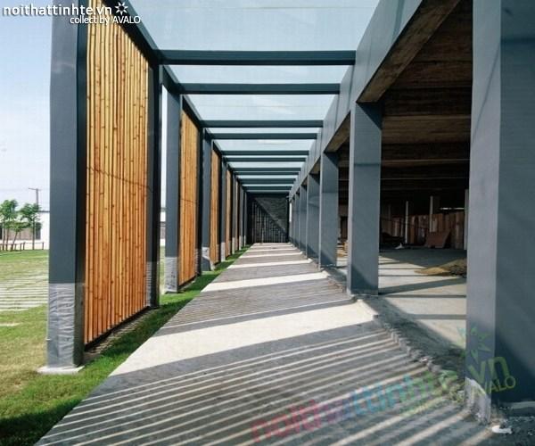 Mẫu nhà đẹp vườn thông xanh ở Trung Quốc 03