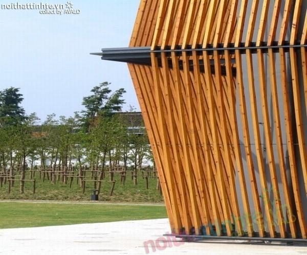 Mẫu nhà đẹp vườn thông xanh ở Trung Quốc 04