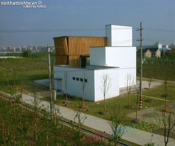 Mẫu nhà đẹp vườn thông xanh ở Trung Quốc 05