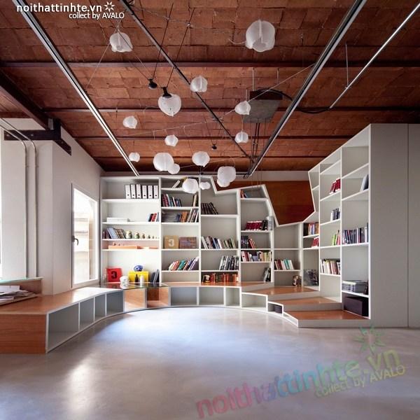 Thiết kế nội thất - cải tạo chung cư ở Barcelona 10