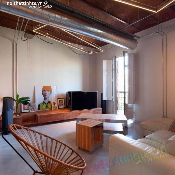 Thiết kế nội thất - cải tạo chung cư ở Barcelona 13