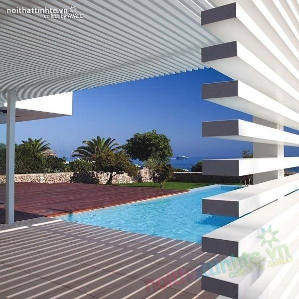 Biệt thự đẹp 2 tầng ở bãi biển Barcelona 09