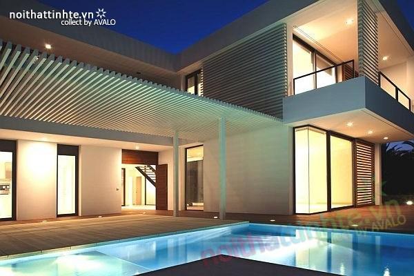 Biệt thự đẹp 2 tầng ở bãi biển Barcelona 02