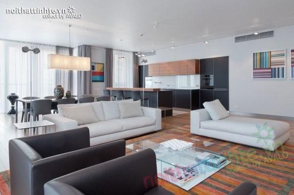 Biệt thự đẹp 2 tầng ở bãi biển Barcelona 03