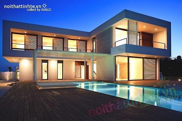 Biệt thự đẹp 2 tầng ở bãi biển Barcelona 07