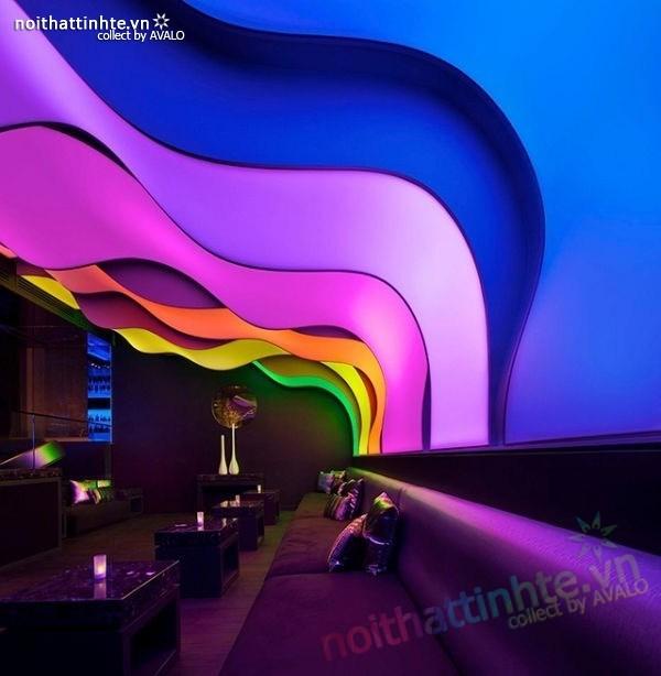 Thiết kế nội thất quầy bar đẹp Lounge Wunderbar 01