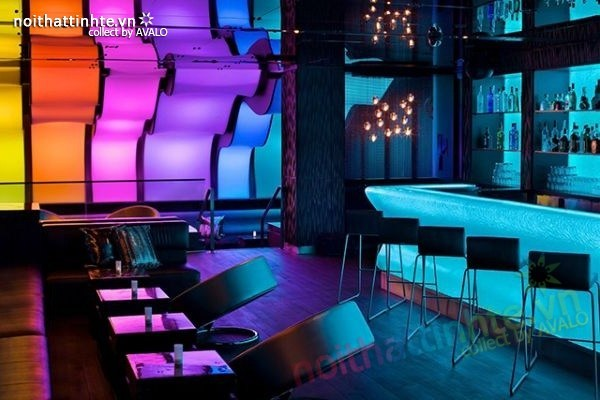 Thiết kế nội thất quầy bar đẹp Lounge Wunderbar 02