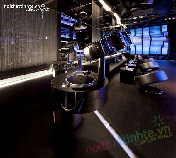Thiết kế nội thất quầy bar đẹp Lounge Wunderbar 03