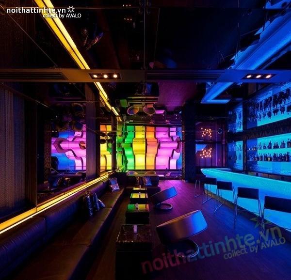 Thiết kế nội thất quầy bar đẹp Lounge Wunderbar 04