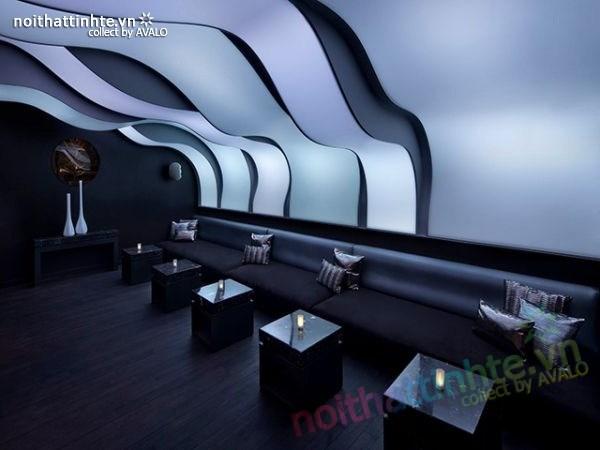 Thiết kế nội thất quầy bar đẹp Lounge Wunderbar 05