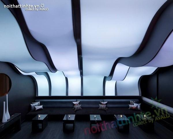 Thiết kế nội thất quầy bar đẹp Lounge Wunderbar 06