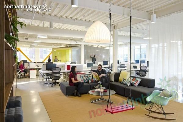 Thiết kế nội thất văn phòng kiến trúc ở Oregon 04