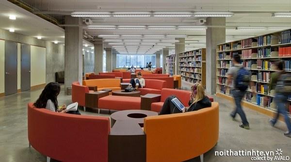 Thiết kế nội thất thư viện McHenry 10