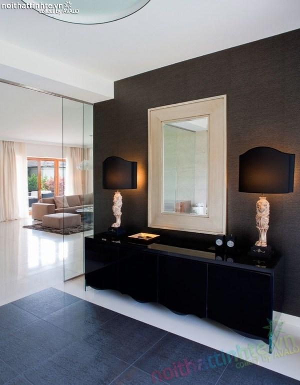 Thiết kế nội thất biệt thự đẹp Konstancin – Ba Lan 03