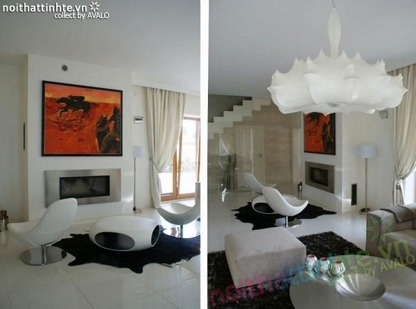 Thiết kế nội thất biệt thự đẹp Konstancin – Ba Lan 01