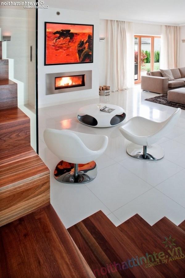 Thiết kế nội thất biệt thự đẹp Konstancin – Ba Lan 02