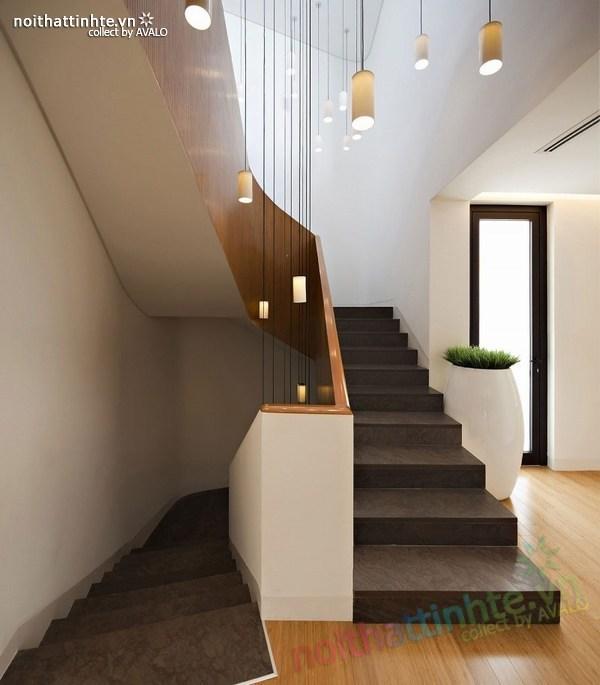 Mẫu nhà đẹp 2 tầng hình tròn ở Kuwait 10
