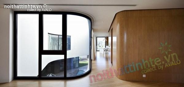 Mẫu nhà đẹp 2 tầng hình tròn ở Kuwait 04