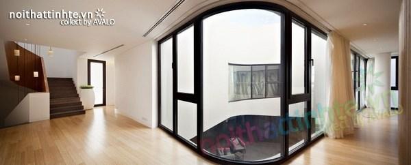 Mẫu nhà đẹp 2 tầng hình tròn ở Kuwait 05