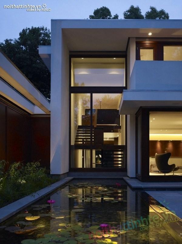 Mẫu nhà đẹp 2 tầng hiện đại l KTS Robbins 12