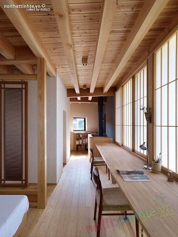 Thiết kế nhà cấp 4 đẹp Yatsugatake - Nhật Bản 09